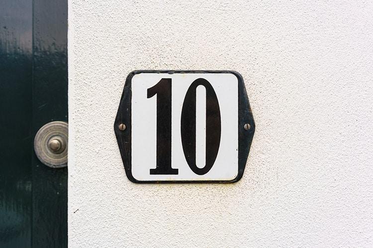 Das Hausnummernschild Kaufen Wichtige Tipps Infos Beim Kauf